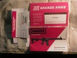 SAVAGE MSR15 , 224 VALKYRIE SEMI-AUTO RIFLE SKU#22931, RECON LRP WITH 25 RD. MAG. - 6 of 7