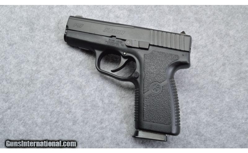Kahr P9 9mm