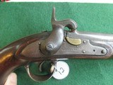 US Model 1836 Waters Flintlock pistol converted to percussion - 3 of 8