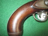 US Model 1836 Waters Flintlock pistol converted to percussion - 8 of 8