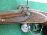 US Model 1836 Waters Flintlock pistol converted to percussion - 6 of 8