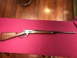 Winchester 1886 made in 1901 .33 WCF