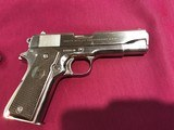 Colt 1911 commanderfactory nickel .45 ACP Made in 1952