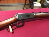 Model 55 winchester in solid frame.