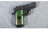 SIG Sauer ~ P238 ~ 380acp ~ Zombie - 1 of 6