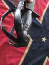 Civil War Confederate Triple D -Guard Bowie-Ultra Rare ! - 4 of 8