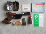 Pair of Benelli MP 90s match pistols