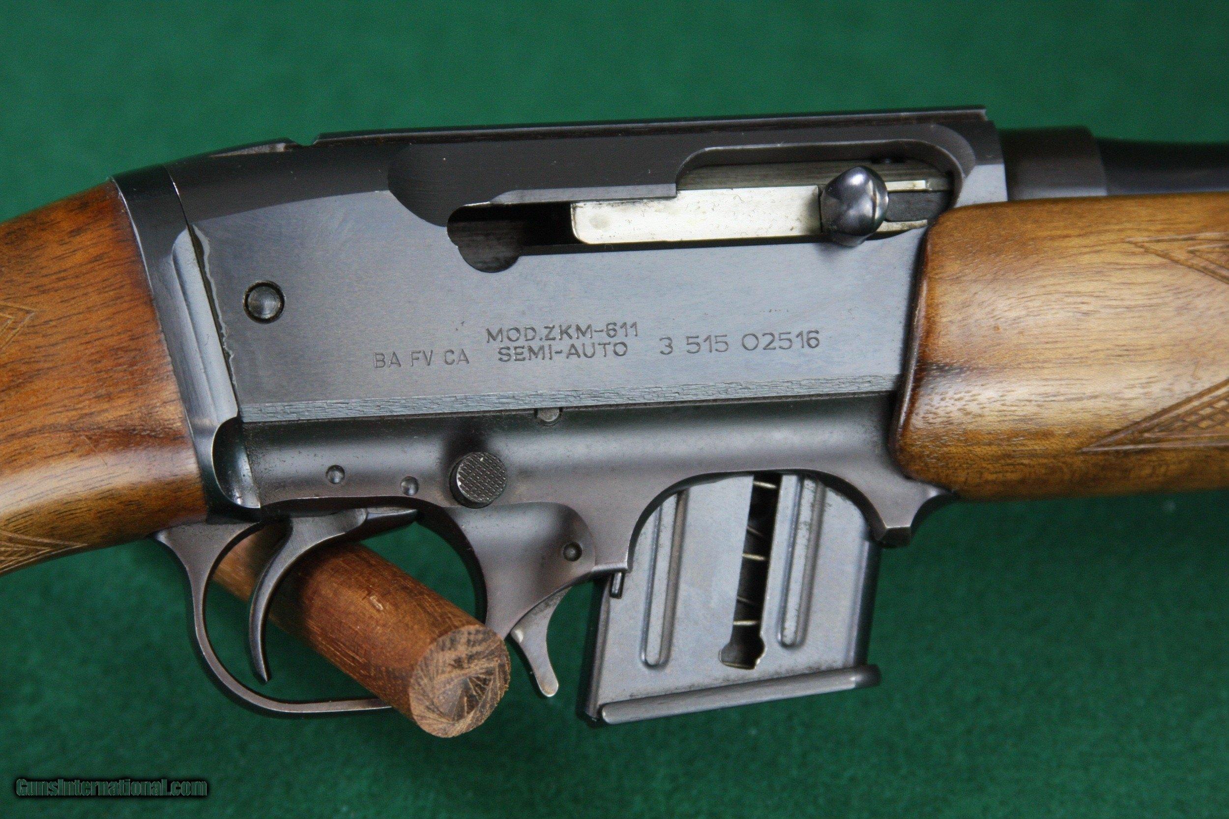 Brno Arms ZKM-611  22 WMR (Mag) Semi-Automatic rifle