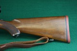 Ruger 77 RSI .308 Win Checkered Mannlicher Walnut Stock Bolt Action Rifle - 5 of 20