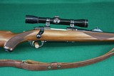 Ruger 77 RSI .308 Win Checkered Mannlicher Walnut Stock Bolt Action Rifle - 3 of 20