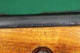 Very RARE Steyr Zephyr Deluxe Bolt Action .22 LR Beautiful Mannlicher Walnut Checkered Stock - 17 of 20
