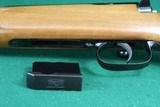 Anschutz 1743 .222 Remington Bolt Action Checkered Walnut Mannlicher Stock Carbine Rifle - 16 of 25