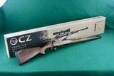 ANIB CZ 550 FS Mannlicher .243 Winchester Bolt Action Rifle Checkered Walnut Stock
