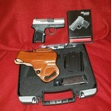 Sig P290RS 380 TSS and two holsters