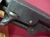 "#4905 Colt 1849 Pocket Model, 152XXX(1857), 4"" IRON GUARD - 4 of 10"