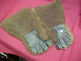 #2243 Pair of buffalo hide Ranchers Gloves - 2 of 3