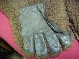#2243 Pair of buffalo hide Ranchers Gloves - 3 of 3