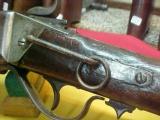 #4837 Sharps 1859/63 New Model Carbine, post-Civil War,51XXX serial range, 50/70 conversion- 9 of 15