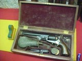 "#4907 CASED Colt 1851 Navy Model, 7-1/2""x36cal, 5XXX (c,1852)"