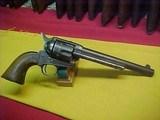 "#4970 Colt S/A 7-1/2""x45COLT, 100XXX range (1884), VG/VG+ bore - 1 of 19"