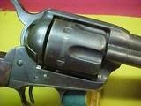 "#4970 Colt S/A 7-1/2""x45COLT, 100XXX range (1884), VG/VG+ bore - 3 of 19"