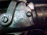 "#1504Mass Arms - Wesson & Levitt's Patent Belt Model, 5""x.31cal ...CASED SET!! - 9 of 25"