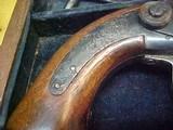 "#1504Mass Arms - Wesson & Levitt's Patent Belt Model, 5""x.31cal ...CASED SET!! - 3 of 25"