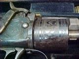 "#1504Mass Arms - Wesson & Levitt's Patent Belt Model, 5""x.31cal ...CASED SET!! - 2 of 25"