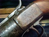 "#1504Mass Arms - Wesson & Levitt's Patent Belt Model, 5""x.31cal ...CASED SET!! - 13 of 25"