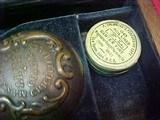"#1504Mass Arms - Wesson & Levitt's Patent Belt Model, 5""x.31cal ...CASED SET!! - 6 of 25"