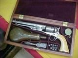"""#4846 Colt 1860 Army revolver, 8""""x44-percussion, 167XXX (1866), CASED Civilian model"""