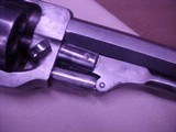 """#4857 Whitney Navy revolver, Second Variation, 7-1/2""""x36cal percussion revolver, cased with accessories - 9 of 21"""