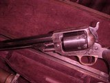 """#4857 Whitney Navy revolver, Second Variation, 7-1/2""""x36cal percussion revolver, cased with accessories - 2 of 21"""