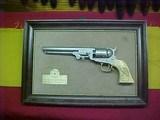"#WBH001Colt 1851 Navy, 7-1/2""x36cal, engraved"