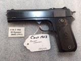 Colt 38 acp Pocket Hammer mfg 1911