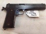 Colt 1902 Military 38 acp / 38 auto pistol serial 33679