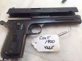 COLT Model 1900 38 acp with Box and Letter # 4225 - 13 of 15