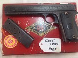 COLT Model 1900 38 acp with Box and Letter # 4225 - 2 of 15