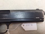 COLT 1905 45 acp with Colt letter to Missouri in 1907 - 10 of 15