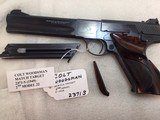 Colt Woodsman Match Target 2nd seriesNICE with extras - 15 of 15