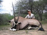 Namibian Luxury Safari ***6 day hunt with 4 full days of hunting and includes the following animals Gemsbok, Warthog & Duiker or Steenbok***