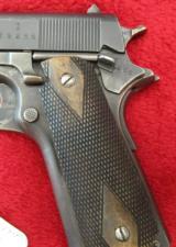 Norwegian Model 1914 Nazi era 45 ACP Pistol - 3 of 8