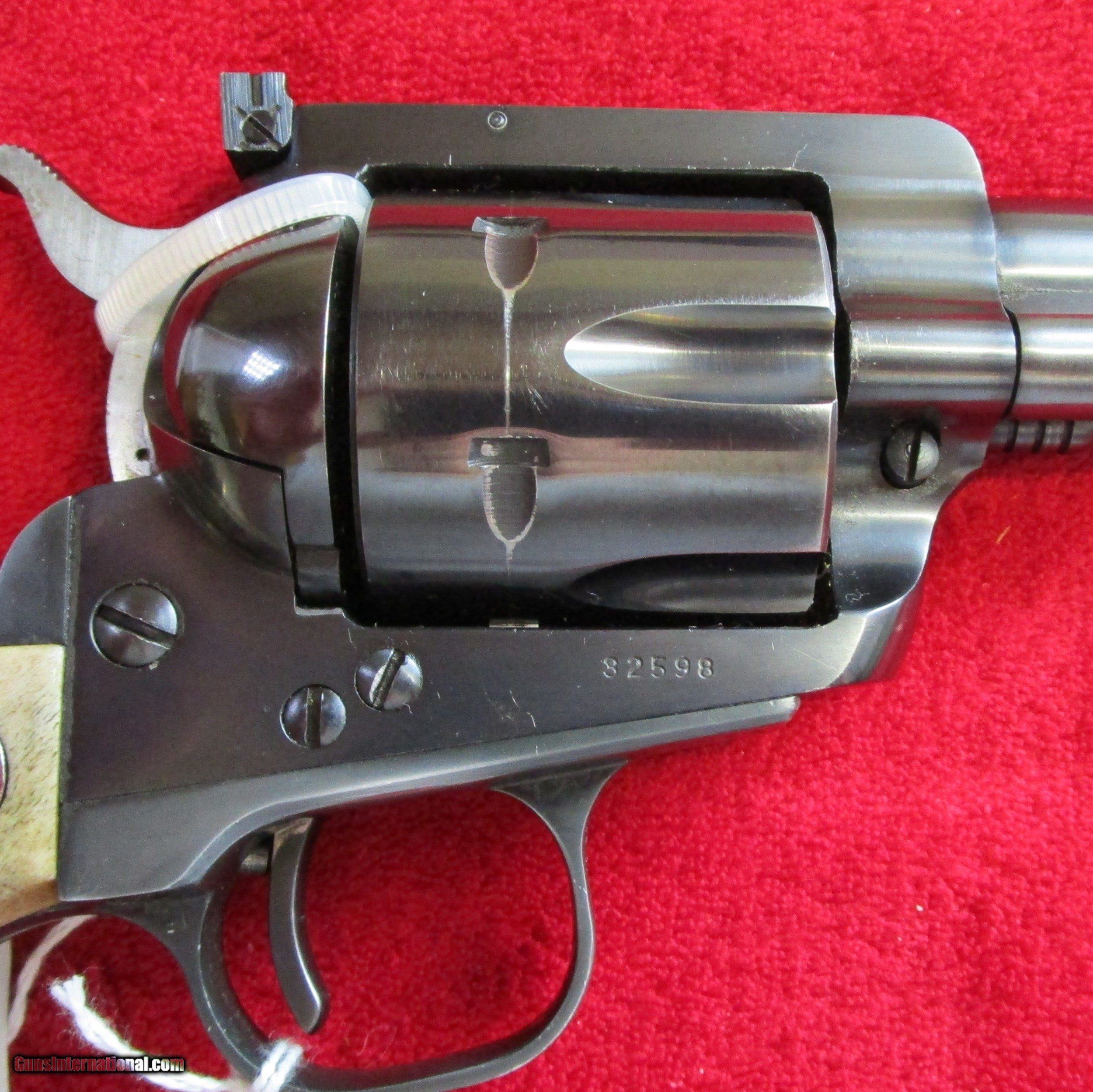 Ruger Blackhawk (with Ruger Stag Grips)