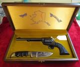 Colt SAA Alaska Pipeline/ with Knife