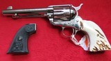 Colt Single Action Army (Nickel & Stag Grips)