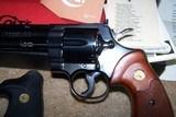Colt Python 6in blue 1972 - 3 of 8