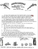 "Colt U.S. Artillery, Custer Range and ""True Blue"" Manila Arsenal Finish w/ Kopec Letter - 2 of 11"