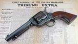 "Colt U.S. Artillery, Custer Range and ""True Blue"" Manila Arsenal Finish w/ Kopec Letter"