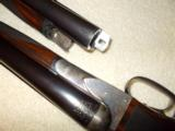 A. H. Fox ( Philly) 'B' Grade ejector 12 bore factory 2 bbl. set - 12 of 15
