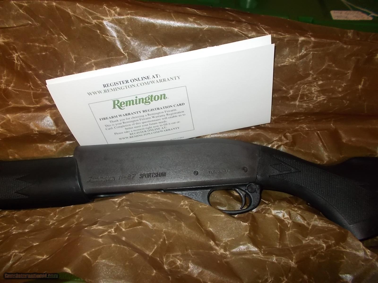 Remington 11-87 SPS 20 ga  Classic Sporting or Tactical 2 3